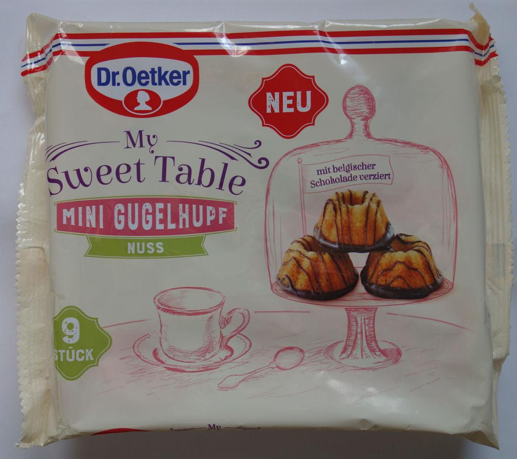 My Sweet Table Mini Gugelhupf Nuss - Product - de