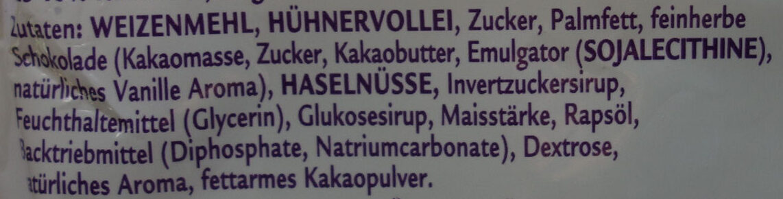 My Sweet Table Mini Gugelhupf Nuss - Ingrediënten - de