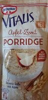 Apfel Zimt porridge - Product