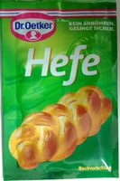 Hefe - Produkt