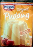 Original Pudding Sahne Geschmack - Produkt