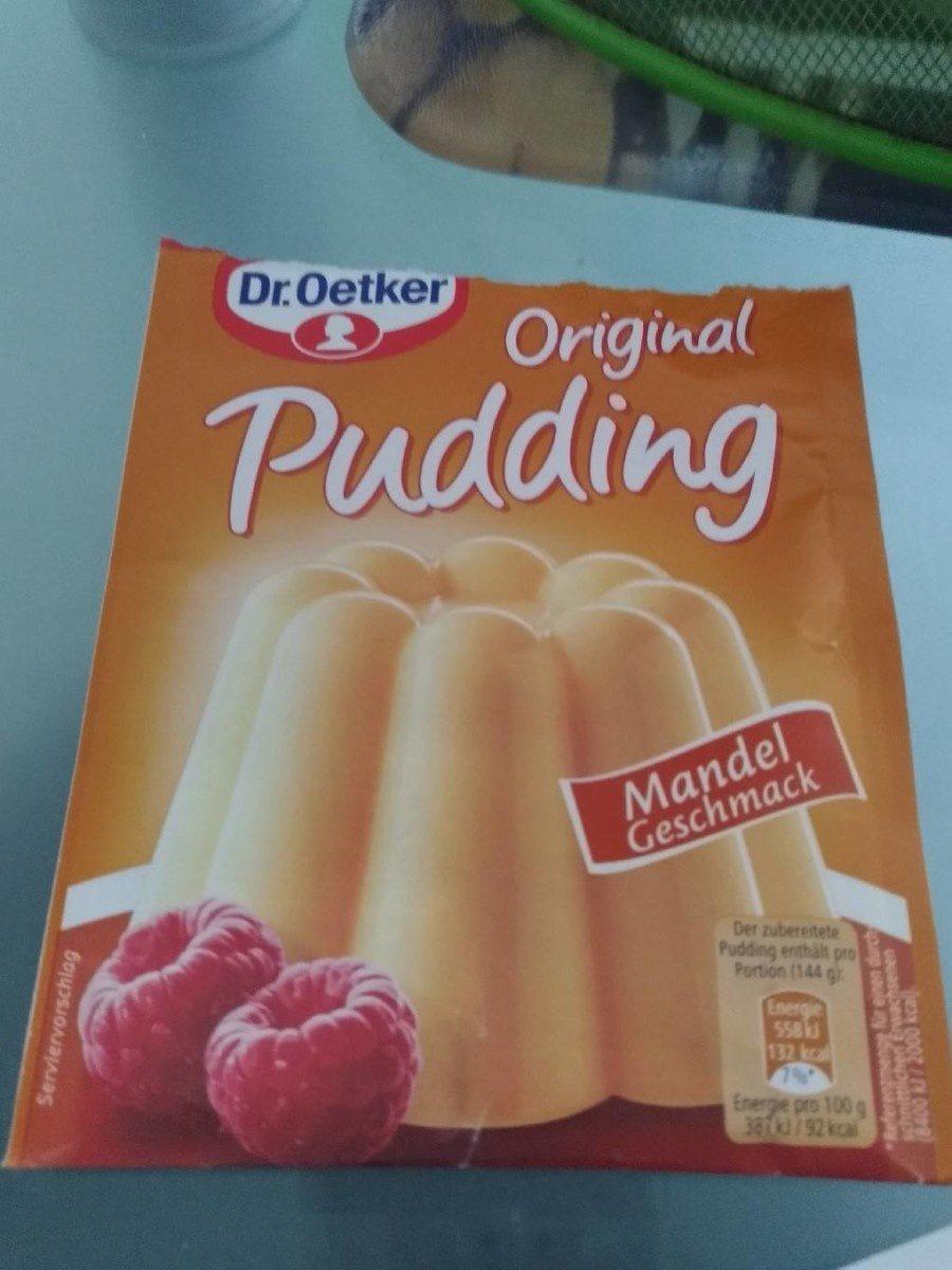 Oetker Pudding Mandel - Produit