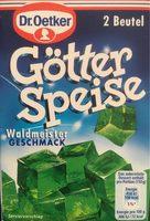 Götterspeise Waldmeister - Product
