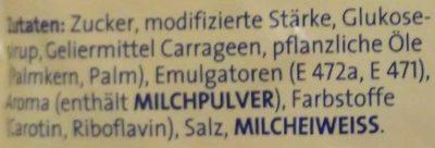 Galetta Cremepudding - Ingrédients - de