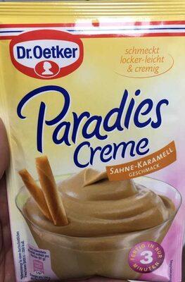 Paradiescreme weiße Schokolade - Product - de