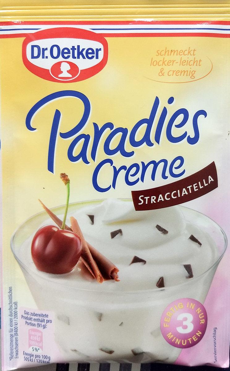 Paradies Creme Stracciatella - Product