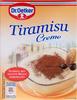 Tiramisu Creme - Produit