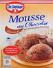 Mousse au Chocolat - Produkt