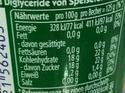 GötterSpeise - Nutrition facts - de