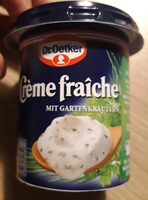 Creme fraiche mit frischen Kräutern - Produit - de