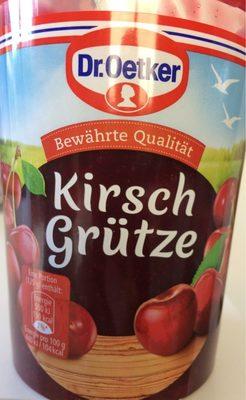 Kirsch Grütze - Product - fr