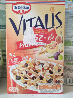 Vitalis Fruchtmüsli - Prodotto - de