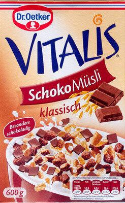 Vitalis Schoko Müsli klassisch - Product - de