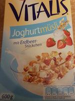 Vitalis Joghurtmüsli mit Erdbeerstückchen - Product - de