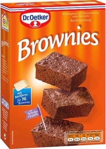 Dr. Oetker Brownies Backmischung - Produit - de