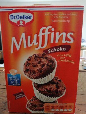 Muffins chocolat - Produit - de