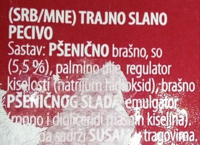- Ingredients - sr