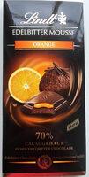 Orange mousse 70% - Produit - fr