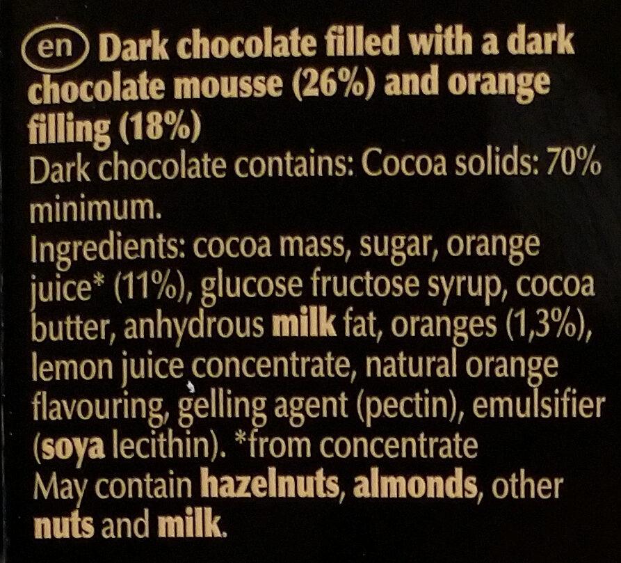 Edelbitter Mousse Orange - Ingredients - en