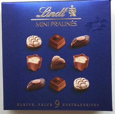 Mini Pralinés 9 Kostbarkeiten - Product - de