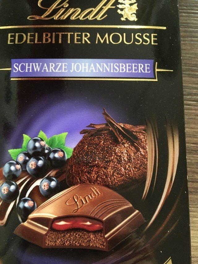 Edelbitter Mousse Schwarze Johannesbeere - Produit - fr