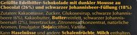 Edelbitter Mousse Schwarze Johannesbeere - Ingrédients - fr