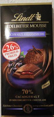 Edelbitter Mousse Schwarze Johannesbeere - Produit