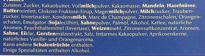 Pralines - Ingredients
