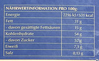 Pralines - Nutrition facts