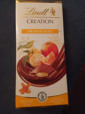 Lindt Creation Orange-Yuzu - Product - de