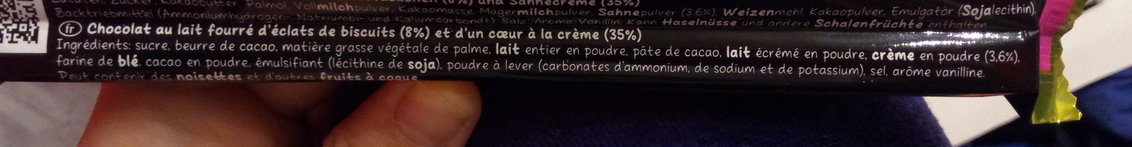 Hello Cookies & Cream - Ingrédients - fr