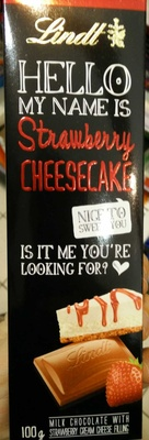 Hello my name is Strawberry Cheesecake - Producto - en