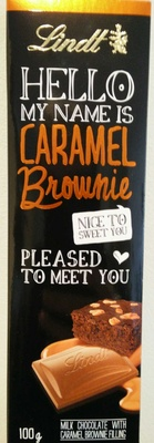 Hello my name is Caramel Brownie - Prodotto - fr