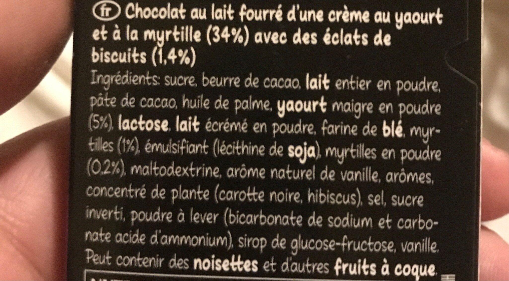 Hello Blueberry Muffin - Ingredientes - es