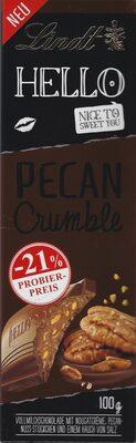 Hello Pecan Crumble - Produit - de