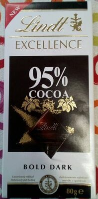 Lindy Excellence 95% cocoa - Producte - es
