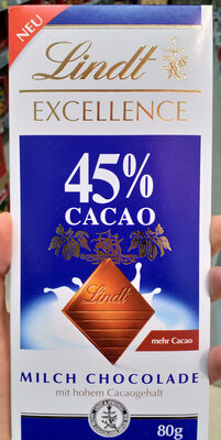 Excellence Milch Chocolade - Produkt - de