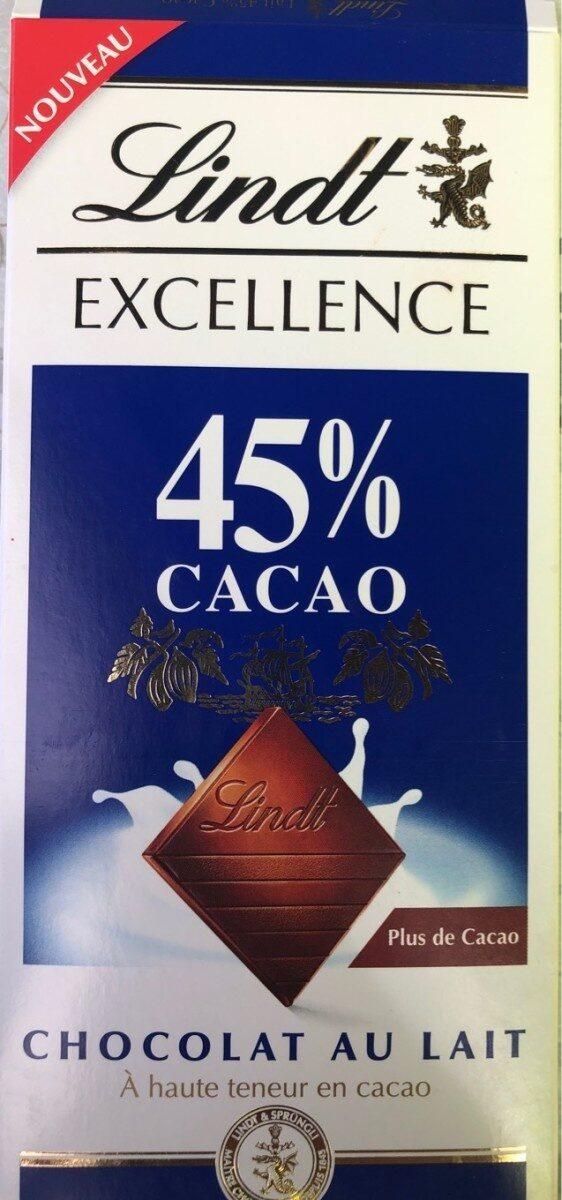 Excellence 45% cacao - Chocolat au lait - Produkt - fr