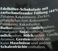 Lindt Lindor Kugeln Dark 60% - Ingredients - de