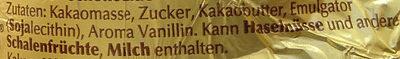 Goldhase Edelbitter - Ingredients - de