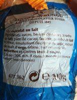 Canard chocolat - Ingredients - fr