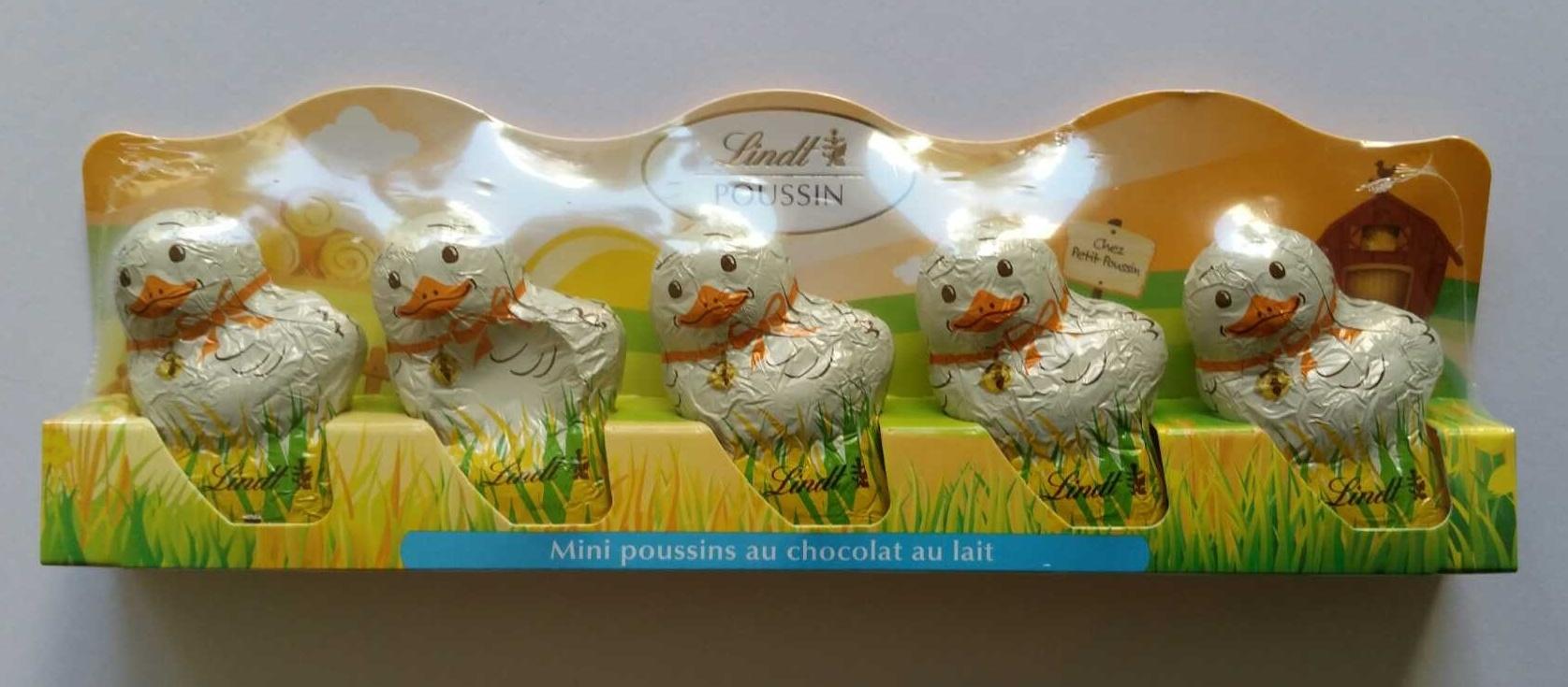 Mini poussins au chocolat au lait - Produit