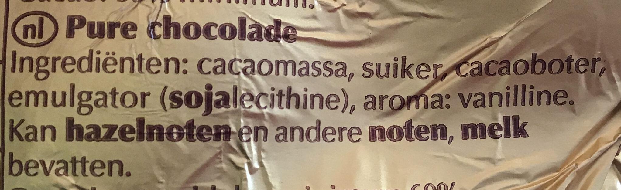 Lapin or chocolat noir - Ingrediënten - nl