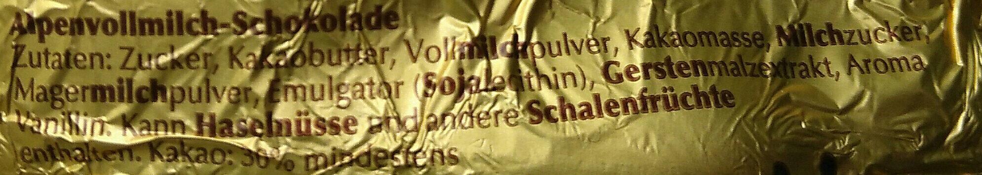 Goldhase - Ingredients - de