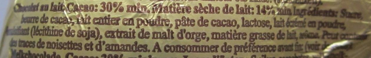 LAPIN OR - Ingrédients - fr