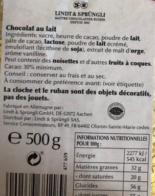Lapin Or - Ingredients