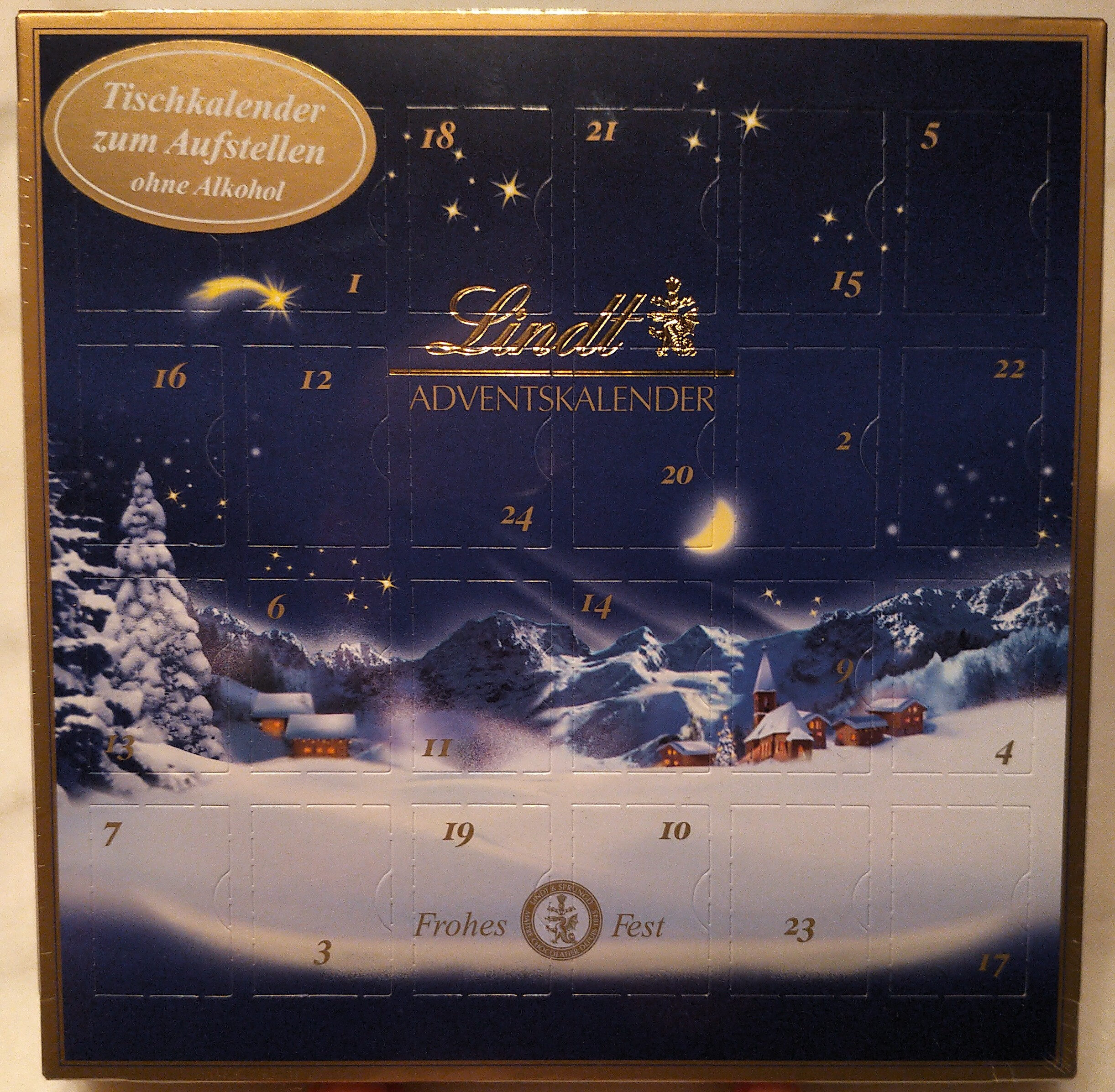 Mini-Kugeln Adventskalender - Produit