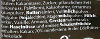 Lindor Kugeln Extra-Dunkel - Ingrédients