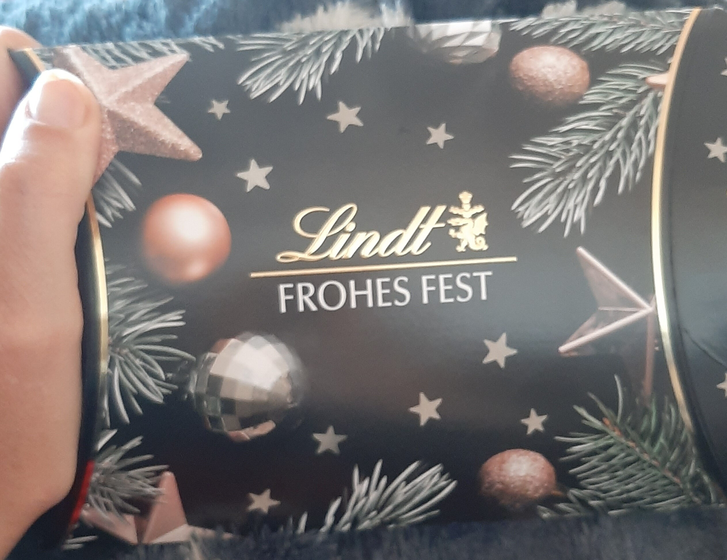 Lindt Frohes Fest - Produkt - de