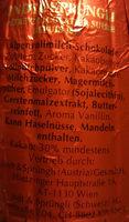 Schokoladen-Weihnachtsmann - Ingredients